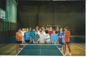 Priprave slovenskih kadetinj in mladink v jesenskih počitnicah leta 1998